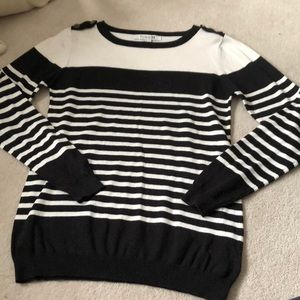 Forever 21 striped sweater!